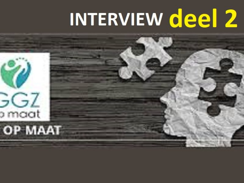 Interview 2 GGZopmaat