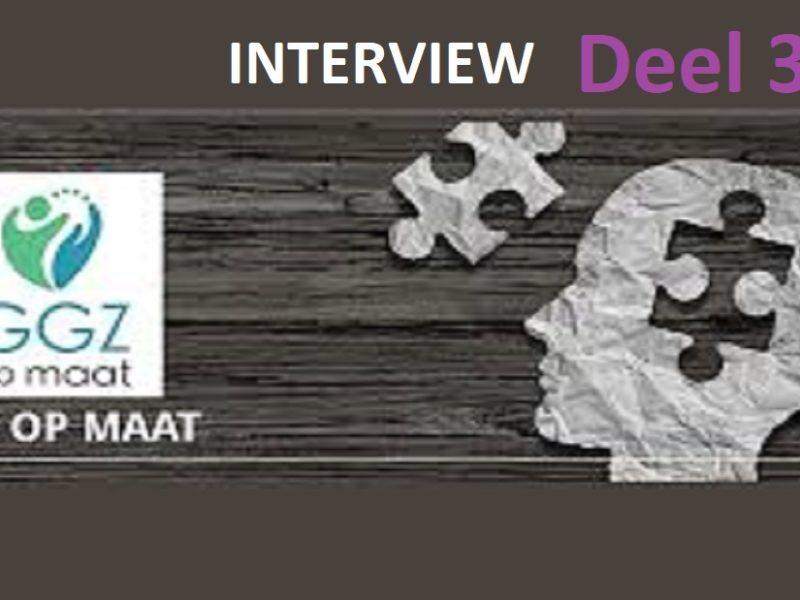 Interview 3 GGZopmaat