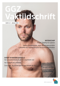 GGZ Vaktijdschrift Cover oktober 2020 nummer 5