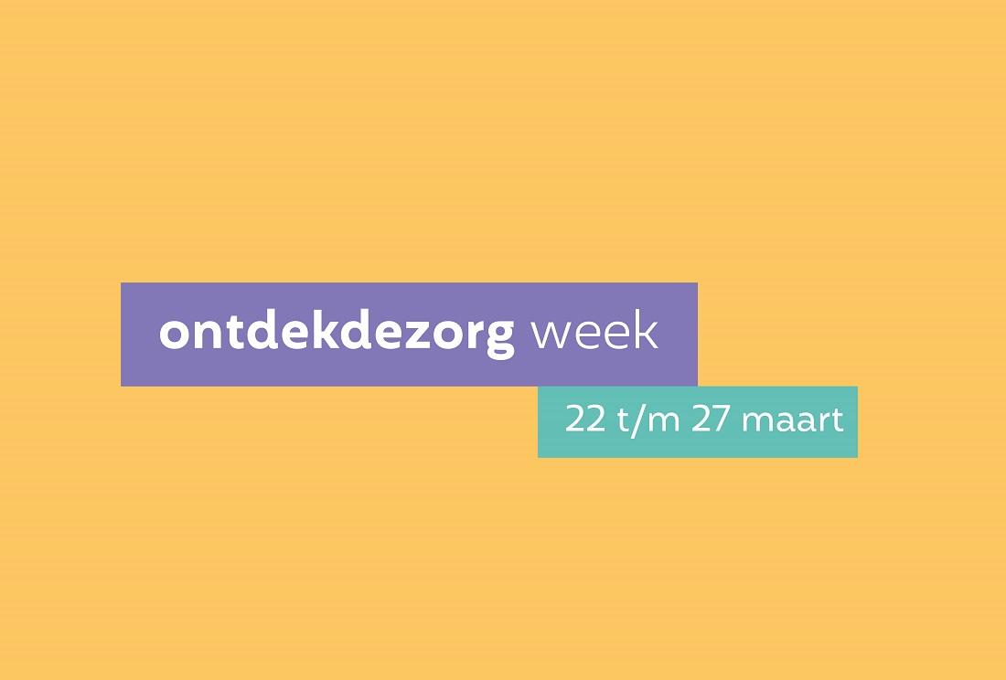 Digitale 'Ontdekdezorg week' voor zij-instromers en herintreders