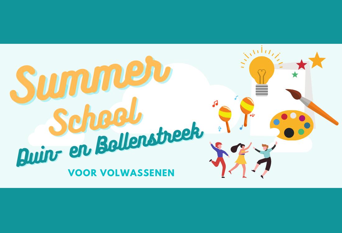Mentaal en fysiek fit met Summerschool Duin- en Bollenstreek